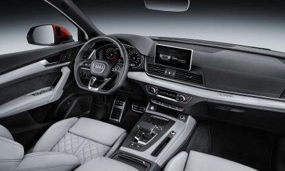 Location voiture SUV Calvados - Audi Q5 intérieur