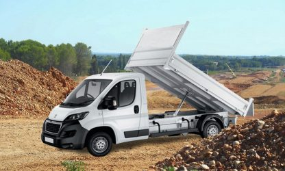 Location camion benne Calvados - Peugeot