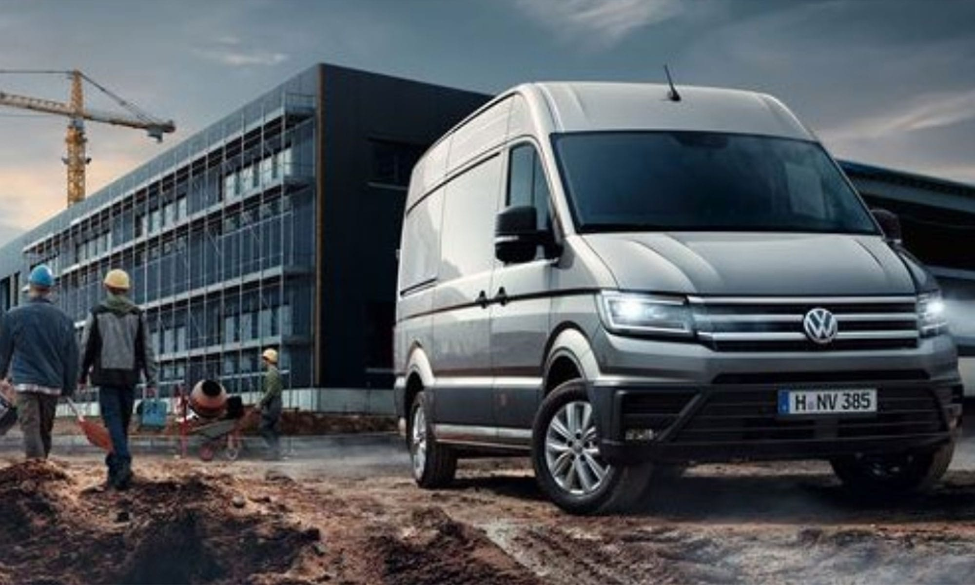 Location utilitaire camion volkswagen crafter L4 H3.